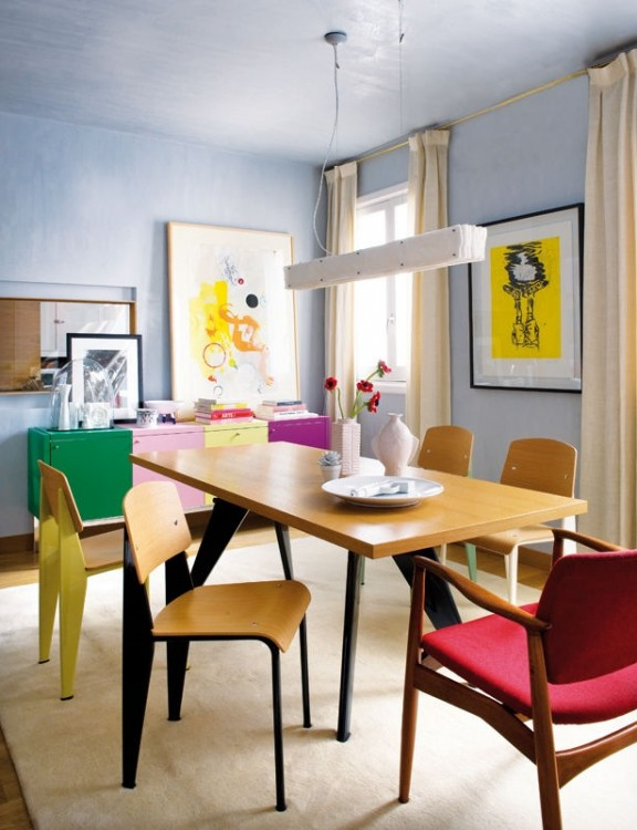 multi-coloured-dining-room